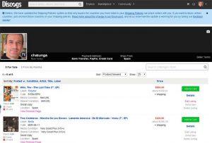 Pamont en Discogs