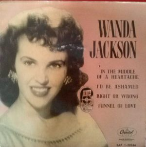 Wanda Jackson Spanish EP Cover